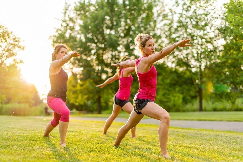 Температурные нормы при выполнении физических упражнений на открытом воздухе
