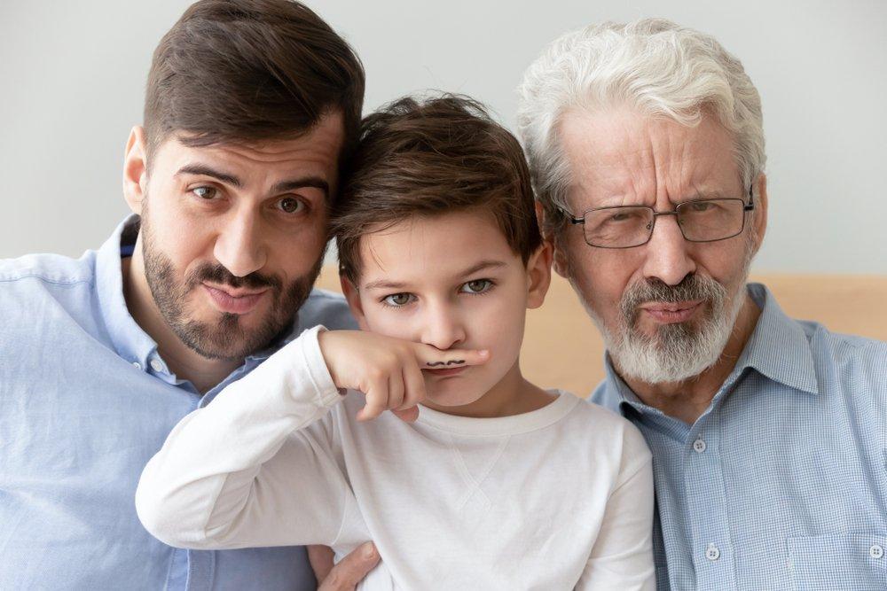 60% генов от отца: они лучше работают