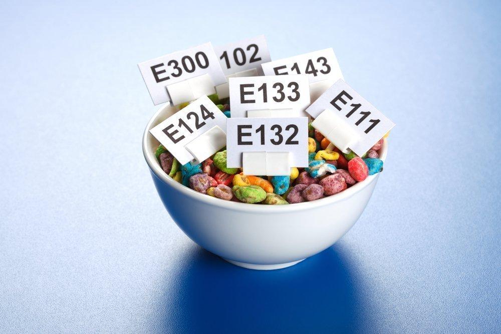Искусственные пищевые добавки вызывающие аллергию