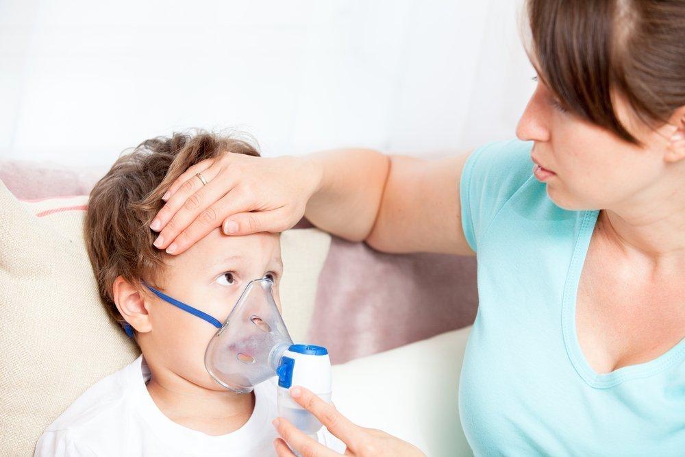 Как лечат круп у детей