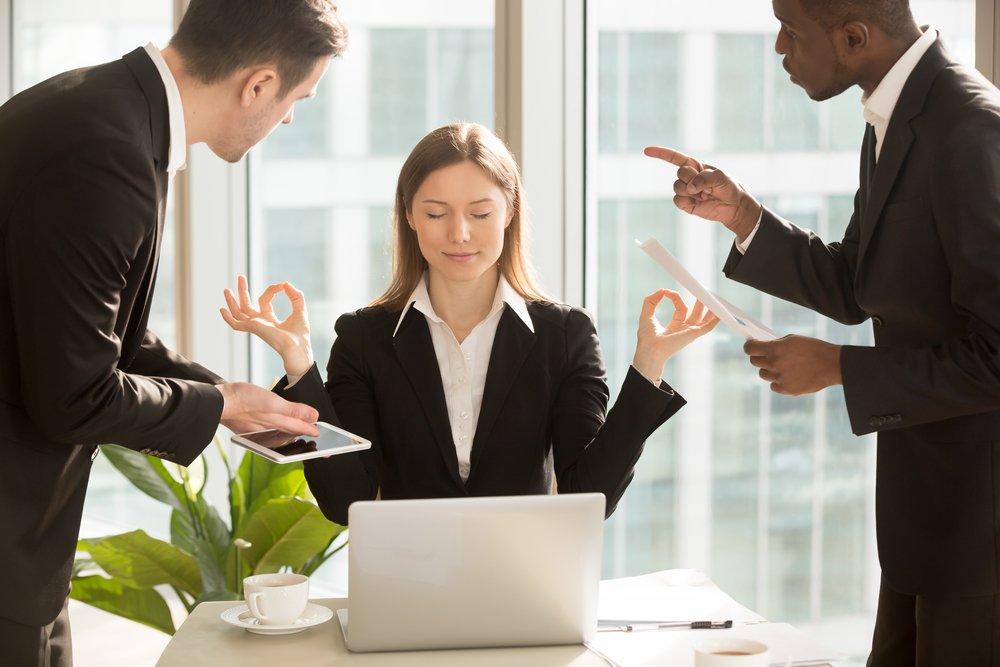Причины возникновения стресса на работе