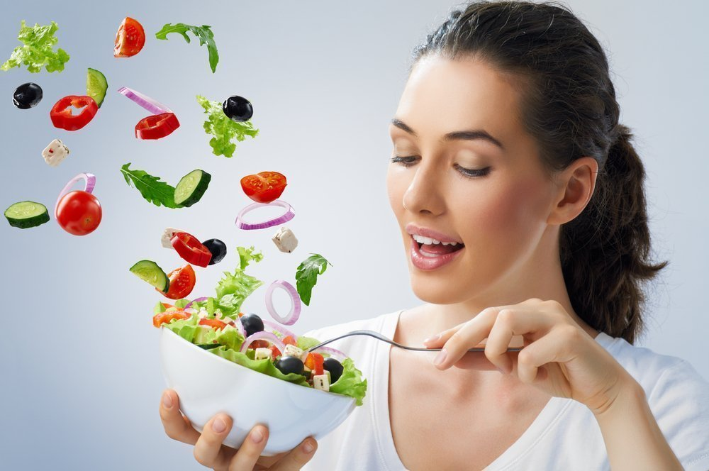 Система питания для похудения живота и боков