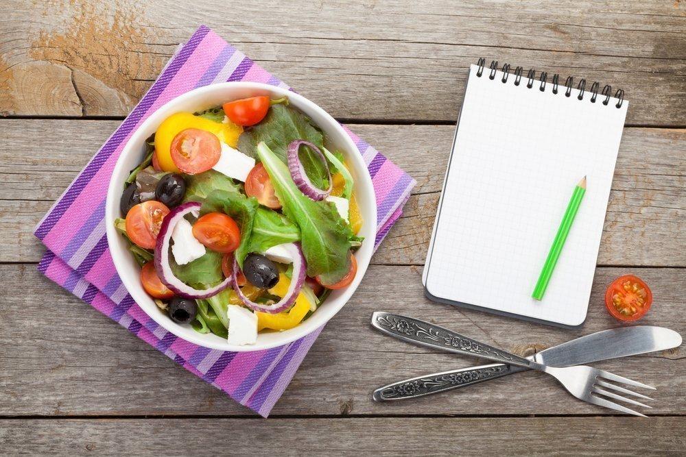 Подробное меню диеты для очищения кишечника