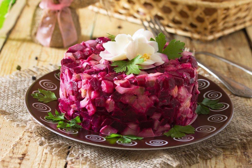 8 салатов для Рождественского стола