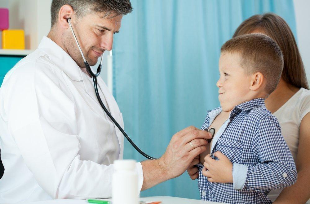 Лечение бронхита, сухого и влажного кашля у детей