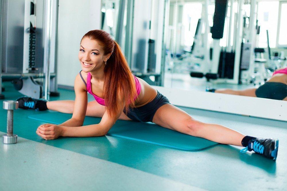 Основные виды шпагата в фитнес-тренировках