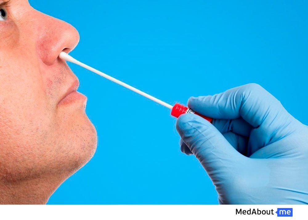Мазок на стрептококк из носа