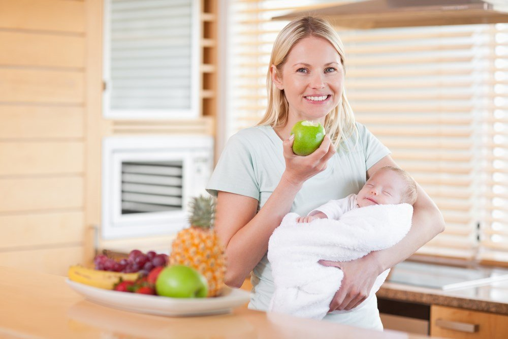 Диета для кормящих матерей педиатрия