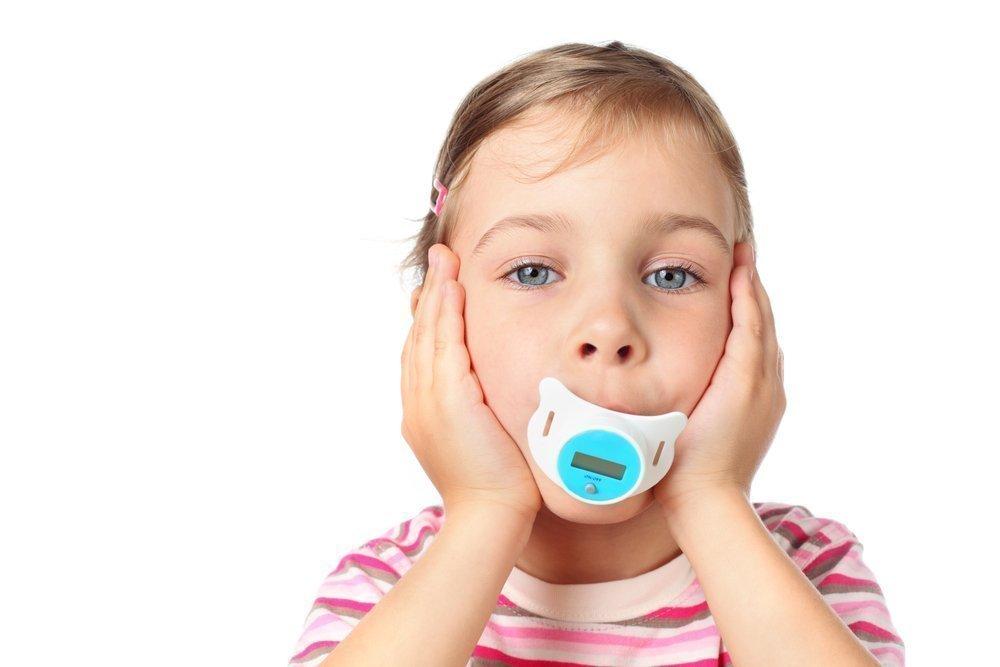 Уникальный градусник для детей: термометр-пустышка