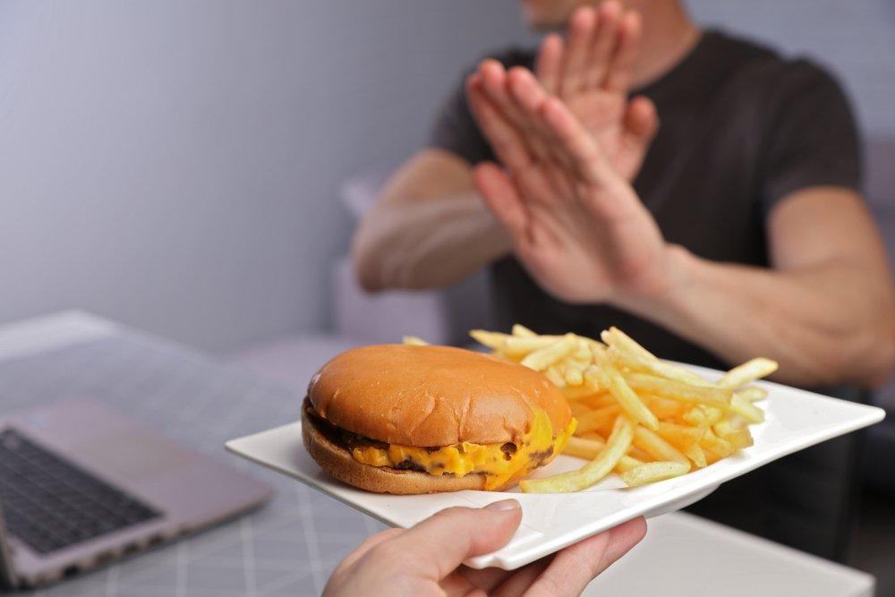 Картинка против еды