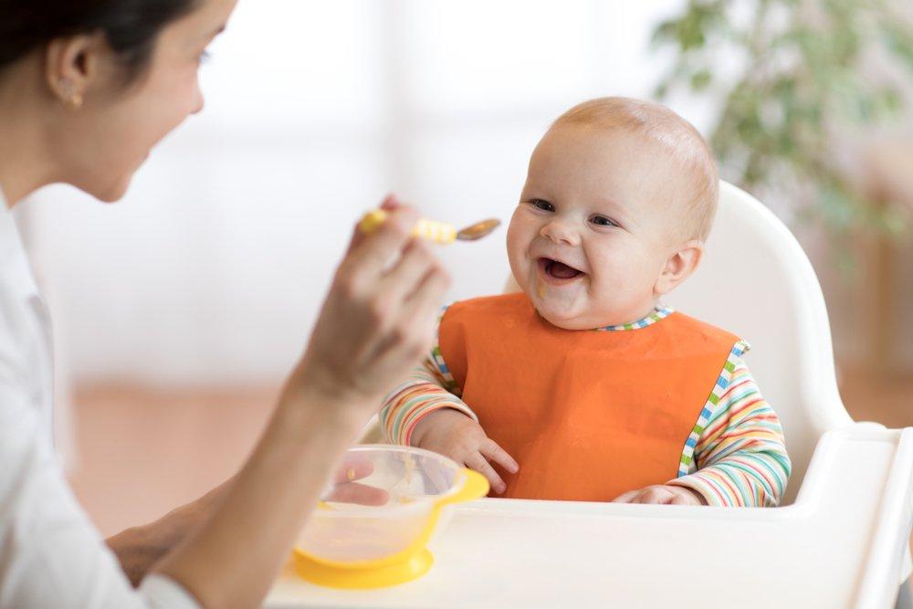 Педиатрический прикорм: традиционная схема питания