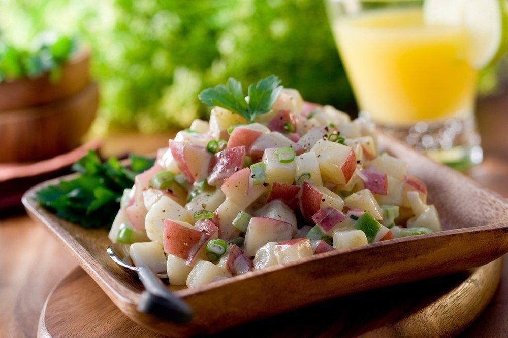 Картофельный салат из Чехии