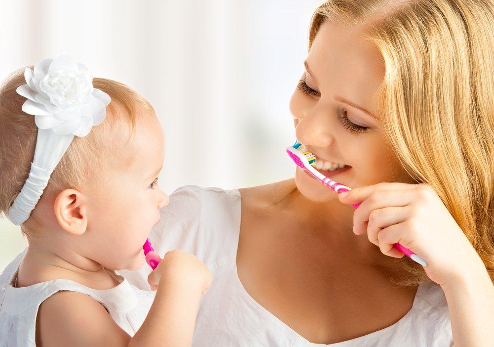 Средства и предметы для ухода за полостью рта у детей