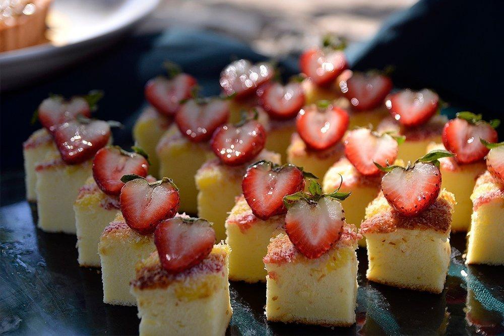 Чизкейк с ягодами в мультиварке