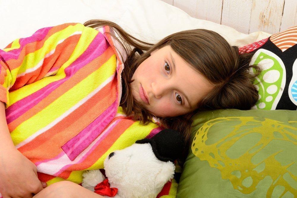 Боль в животе при кишечном гриппе