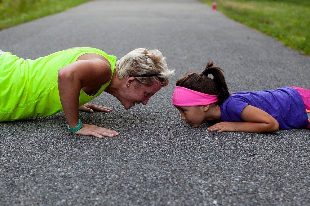 Техника выполнения базовой версии фитнес-упражнения