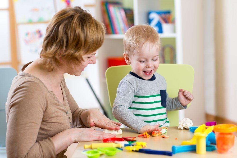 Занятия родителей с детьми по Монтессори дома
