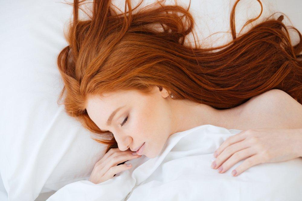 Ложитесь спать с влажной шевелюрой