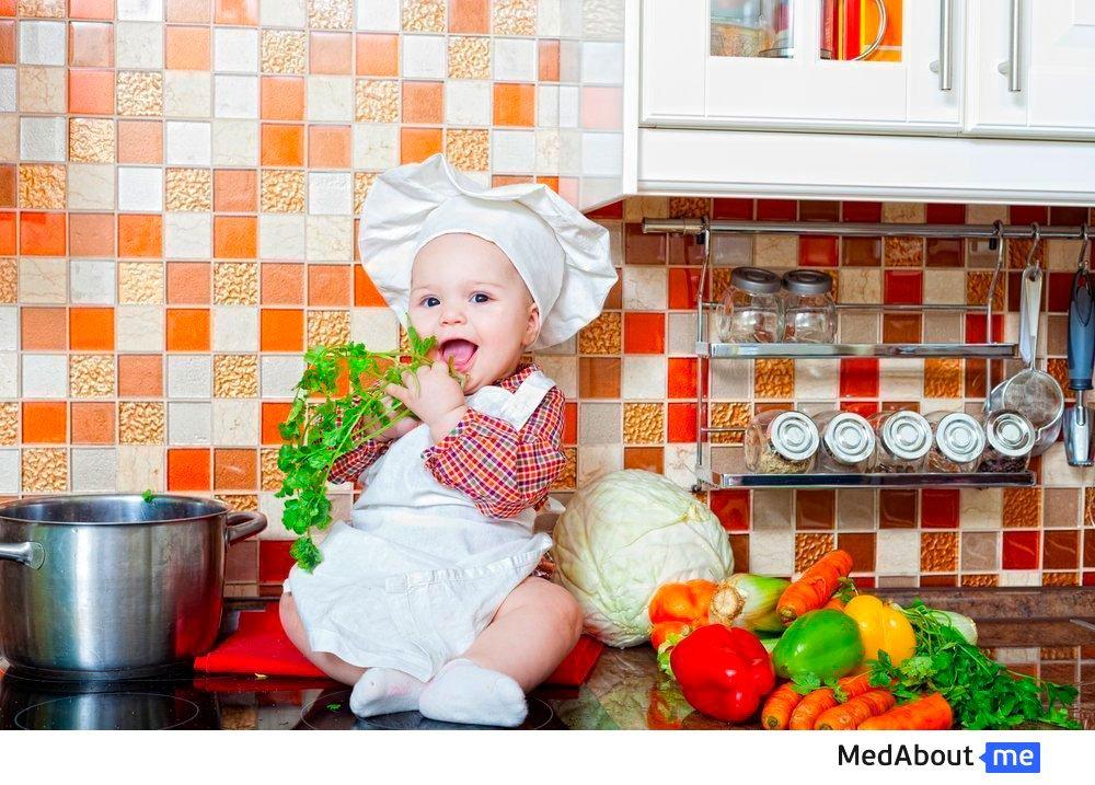 Какие овощи и фрукты выбрать для пюре