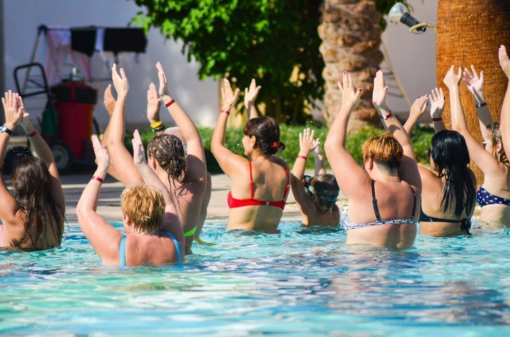 Виды водного фитнеса
