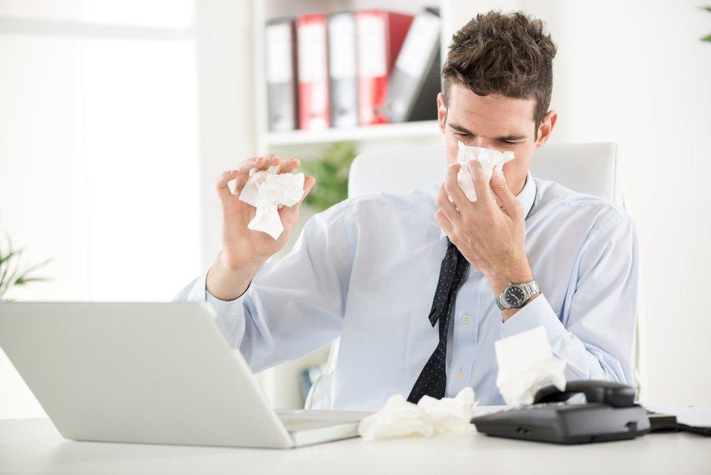 Откуда берется аллергия на бумагу?
