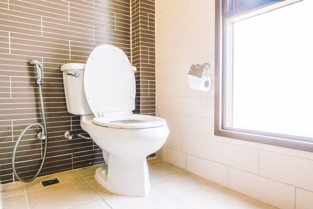 Места общего пользования: кухня и туалет