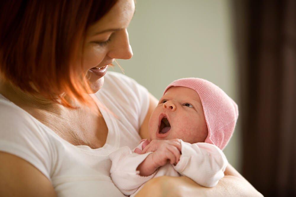 Уход за ребенком: материнский инстинкт