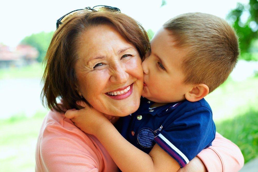 Открытки день, картинки бабушки с внуками с музыкой видео