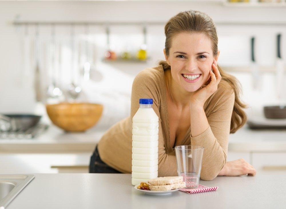 1. Молочные продукты с низким уровнем жирности