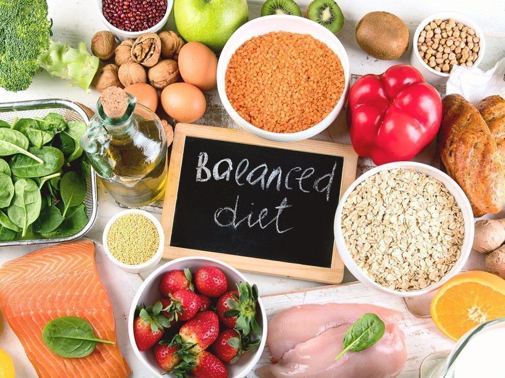 Пища для нормального обмена веществ