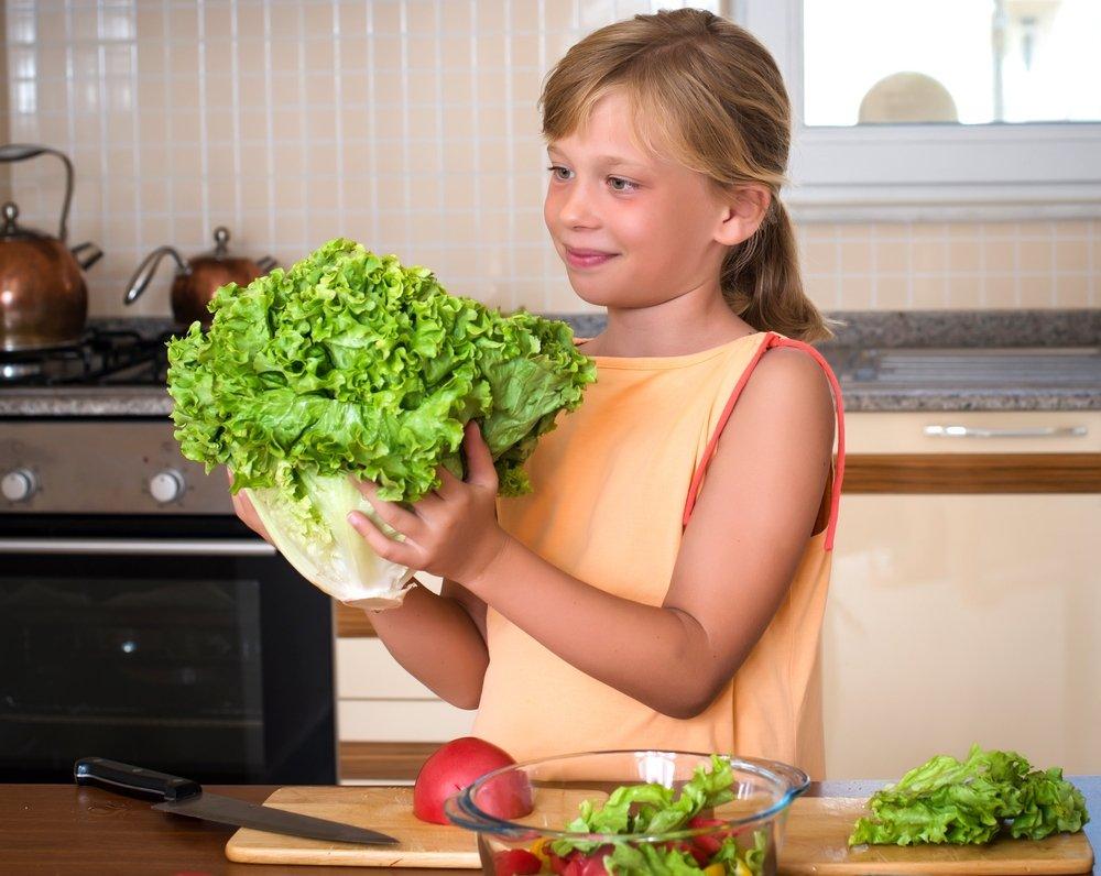 Салат, чтобы дети не болели