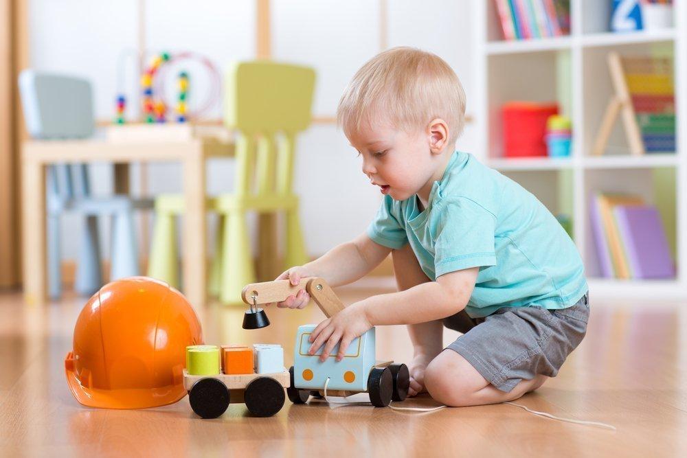 Дети растут вместе с игрушками