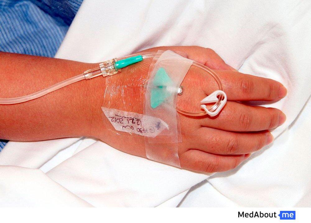 Холера средней степени тяжести