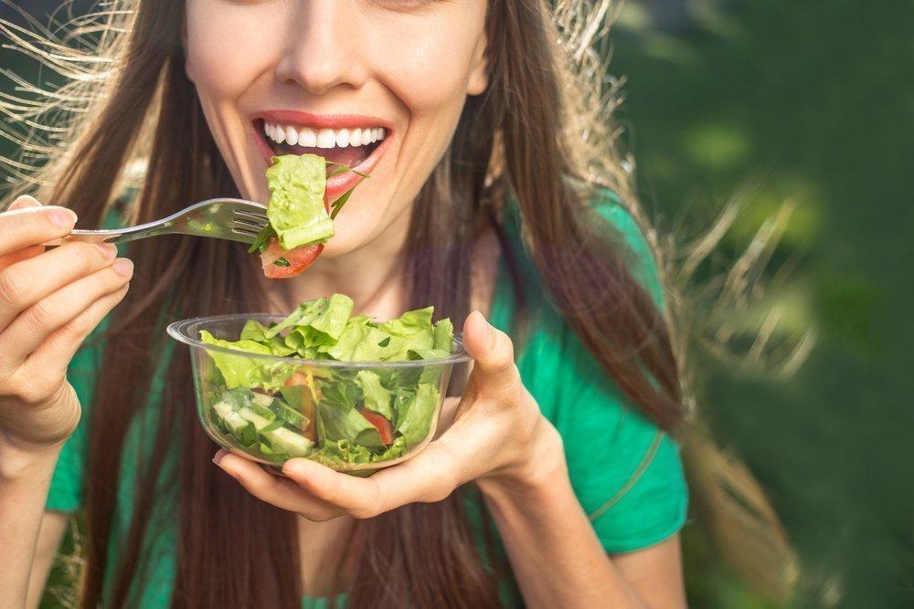 Салат «Весенний» для похудения