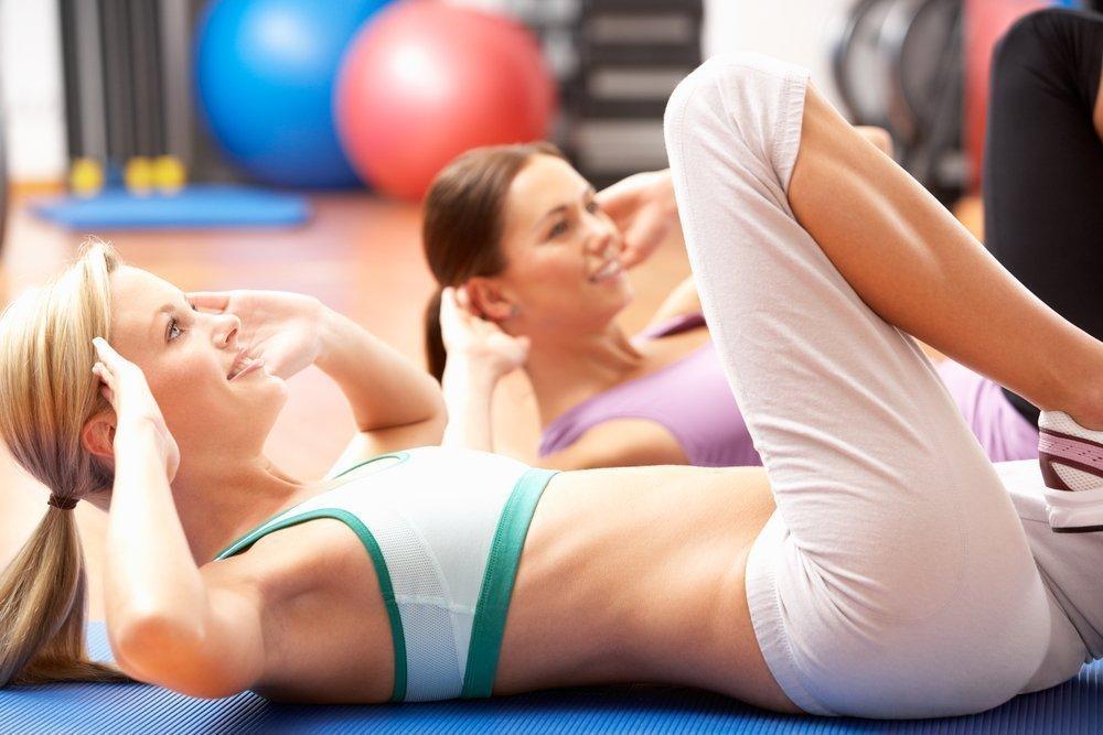 Упражнения для идеального плоского живота