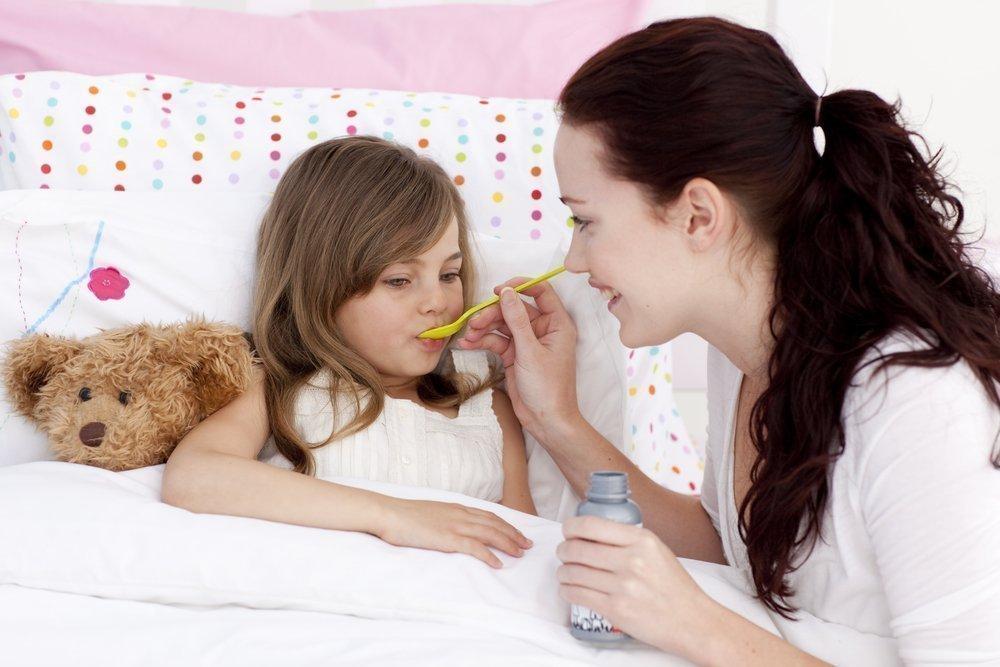 Суспензии для детей, содержащие жаропонижающее вещество