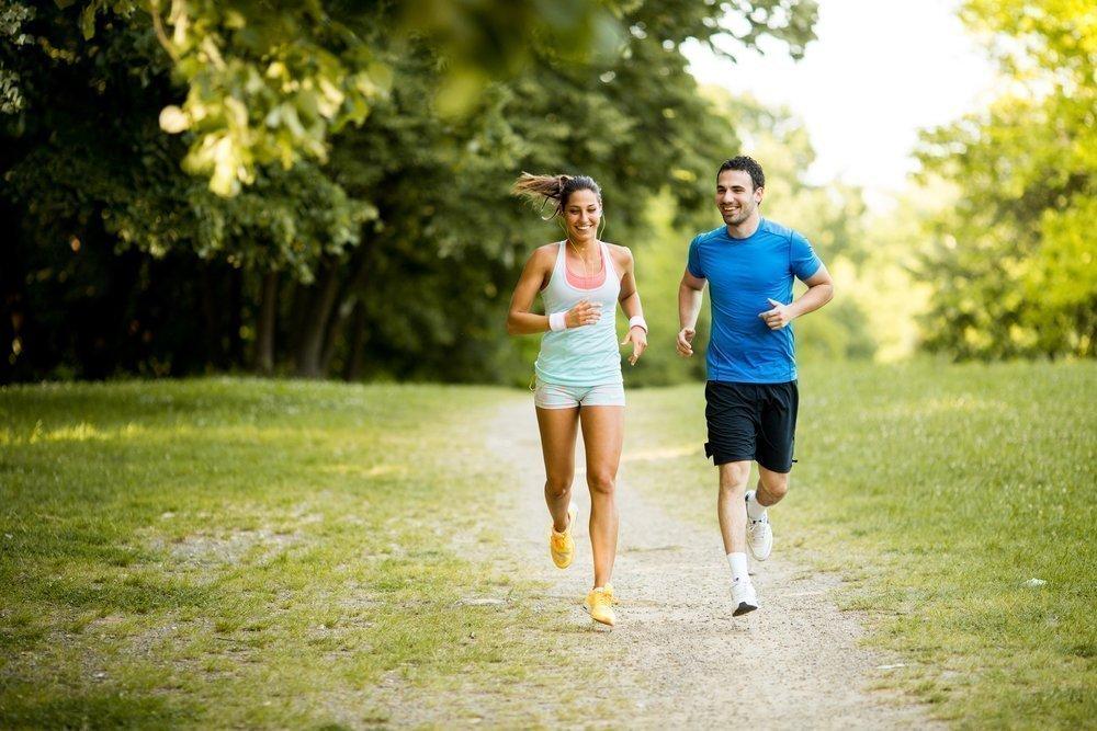 Начало утренних фитнес-тренировок