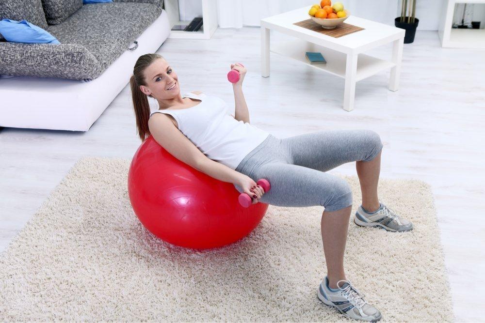 Эффективный комплекс упражнений для занятий дома