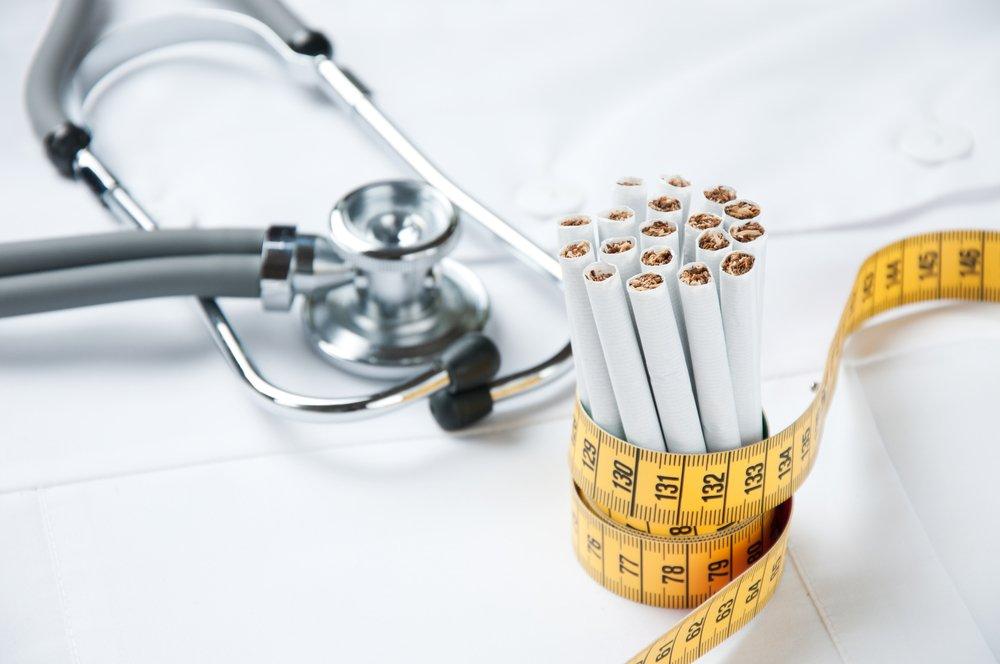Отказ от курения и лишний вес