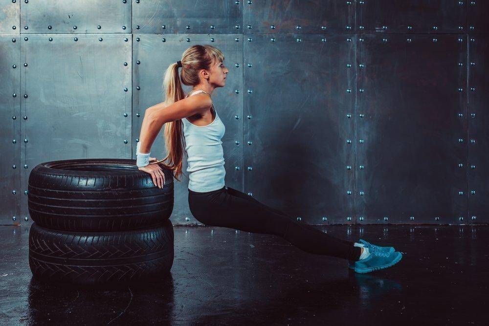 Физическая нагрузка с весом собственного тела