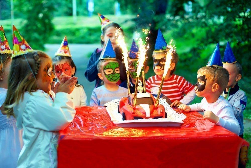 Меню питания детей для праздника