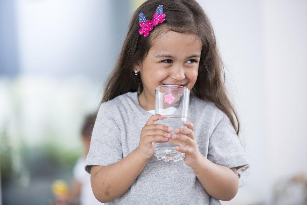 Питьевой режим малышей