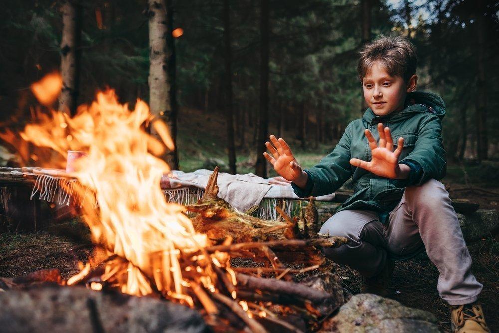 Огонь: печь, костер, камин