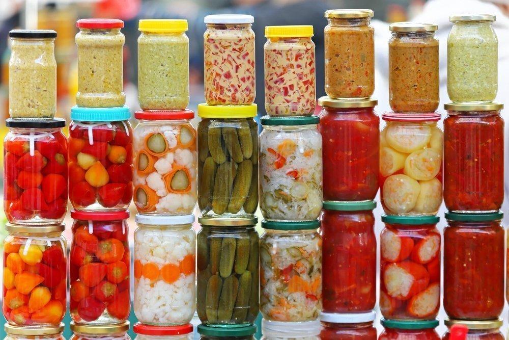 Венгрия: соленая пища и маринады