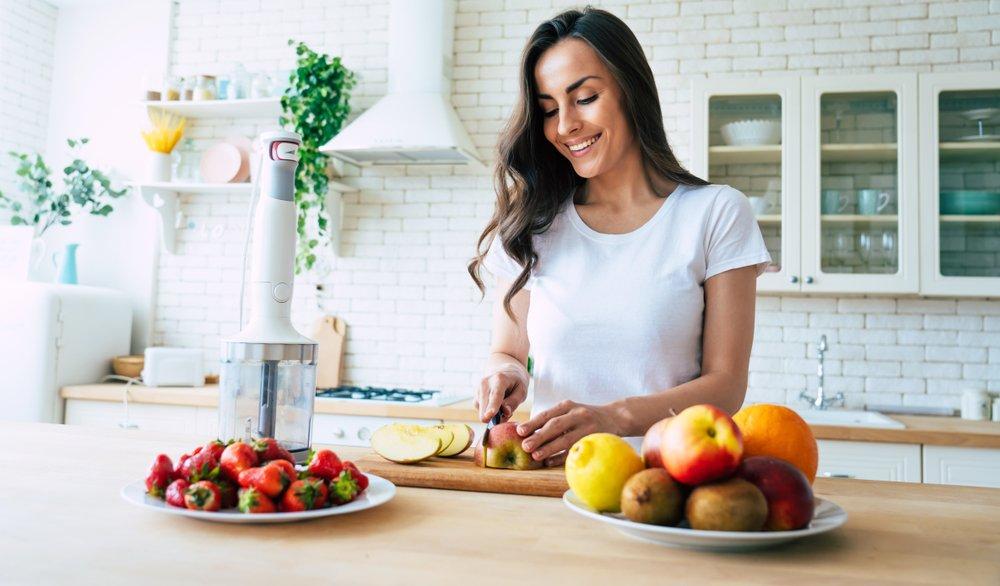 Питание кормящей матери: больше фруктов и овощей?