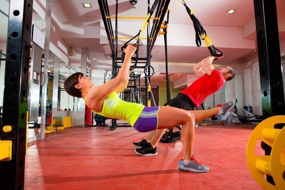 Фитнес-упражнения с петлями