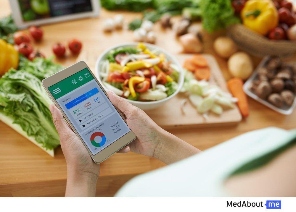 Подсчет калорий при диетах и занятиях спортом