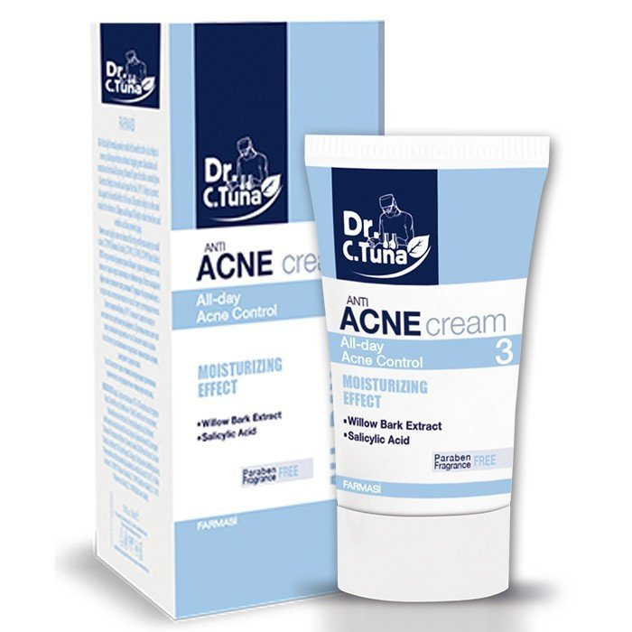 Дневной крем против акне Anti-Acne Day Cream Фармаси, 50мл Источник: farmasi.ua