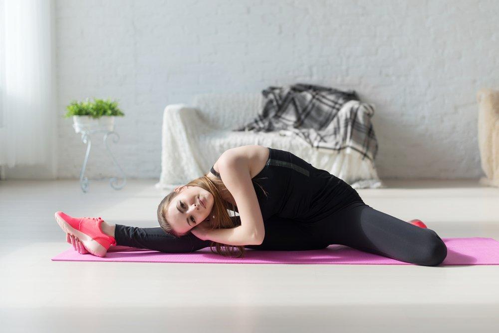 Примеры упражнений на растяжку