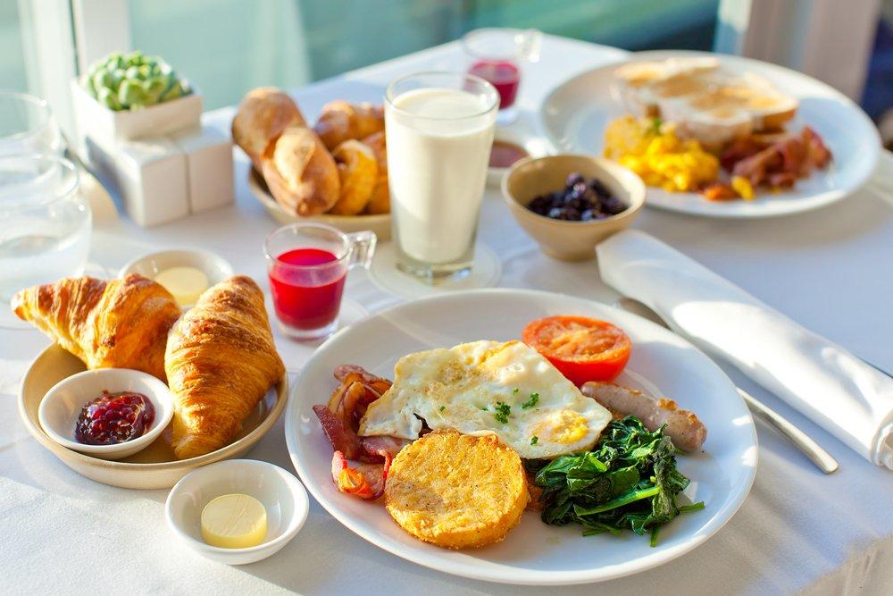 1. Завтрак: контроль инсулина и сахара крови